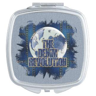La révolution de denim miroirs de poche