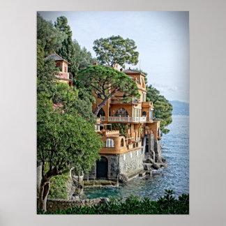 La Riviera - le Portofino italiens, affiche de
