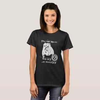 La rivière de MF - petit Taureau de BBC T-shirt