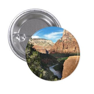 La rivière de Vierge en canyon de Zion Pin's