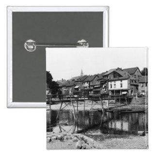 La rivière Nahe, Bad Kreuznach, c.1910 Badges