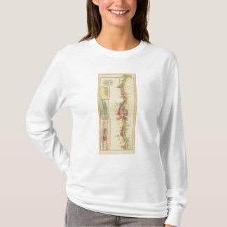 La rivière Ohio et vallée supérieures 5 T-shirt
