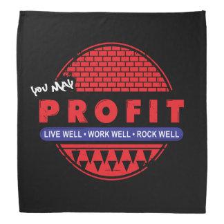 La roche et vous vivants de travail pouvez bandana