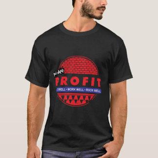 La roche et vous vivants de travail pouvez t-shirt