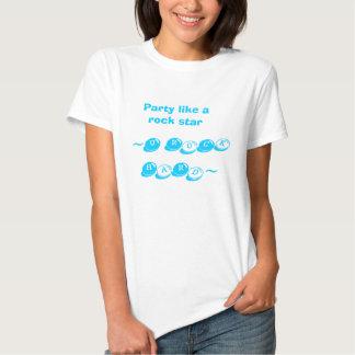 la roche HaRd~, partie de ~U aiment une vedette du T-shirt