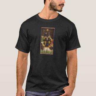 La roue de la carte de tarot de fortune t-shirt