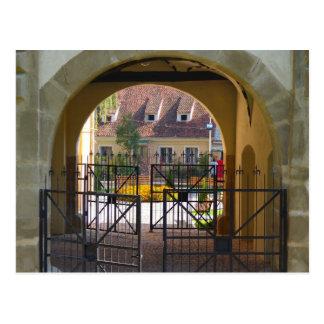 La Roumanie, Brasov, porte de St Catherine Carte Postale