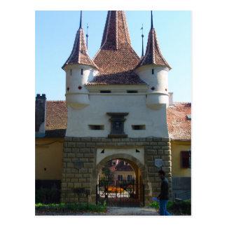 La Roumanie Brasov porte de St Catherine Carte Postale