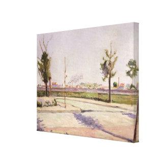 La route à Gennevilliers, 1883 Toiles