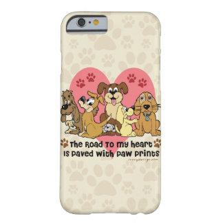 La route à mes chiens de coeur coque barely there iPhone 6