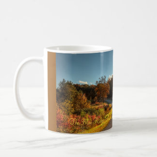 La route express bleue de Ridge Mug