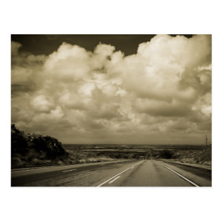 La route vers Roswell Carte Postale