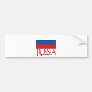 La Russie Autocollant Pour Voiture