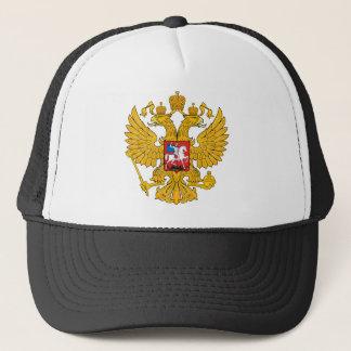 La Russie deux a dirigé Eagle Casquette