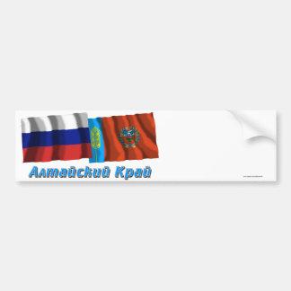 La Russie et Altai Krai Autocollant Pour Voiture