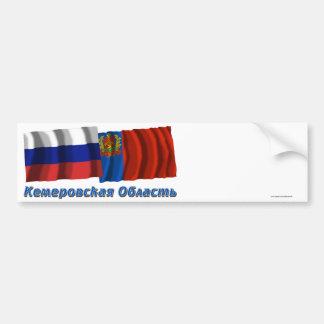 La Russie et Kemerovo Oblast Autocollant De Voiture