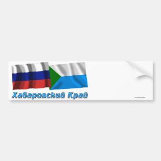 La Russie et Khabarovsk Krai Autocollant Pour Voiture