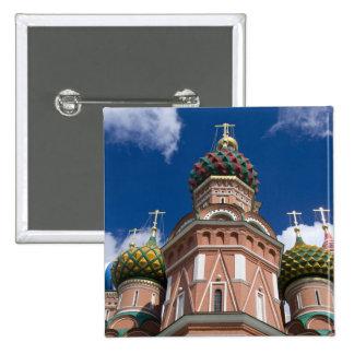 La Russie, Moscou, carré rouge. St Basil 2 Badges