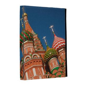 La Russie, Moscou, Kremlin, Vasiliy a béni Étuis iPad Folio