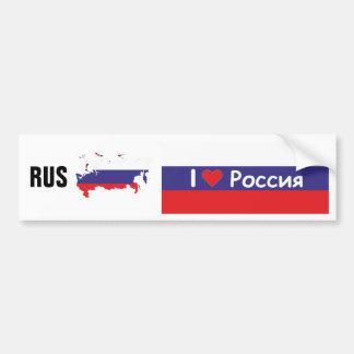 La Russie - Russia autocollants de voiture Autocollant Pour Voiture