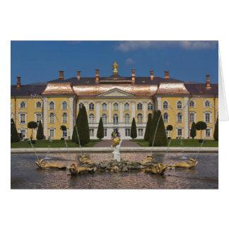 La Russie, St Petersbourg, Peterhof, palais grand Carte De Vœux