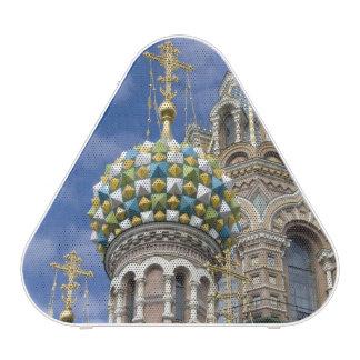 La Russie, St Petersburg, Nevsky Prospekt, Haut-parleur Bluetooth