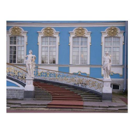 La Russie, St Petersburg, Pushkin, Catherine 5 Cartes Postales
