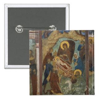 La Russie, Yaroslavl, fresque dans la cathédrale d Badge