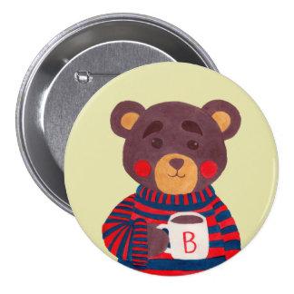 La saison d'hiver vient (l'édition d'ours) pin's