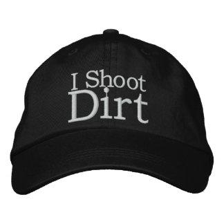 La saleté folâtre le casquette de photographie casquette brodée