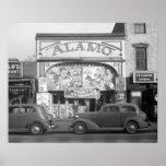 La salle de cinéma d'Alamo, 1937