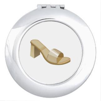 La sandale de la femme - Emoji Miroirs De Voyage