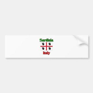 La Sardaigne Italie Autocollant Pour Voiture