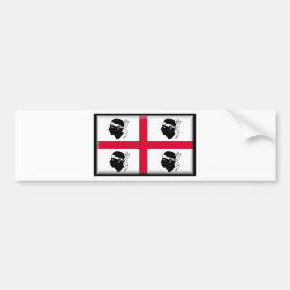 La Sardaigne-Italie Autocollant Pour Voiture