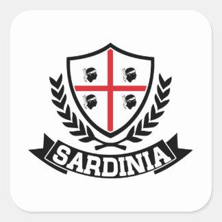 La Sardaigne Italie Sticker Carré
