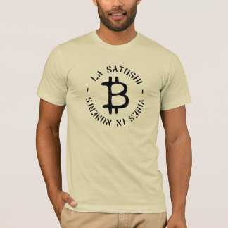 """""""La Satoshi - forces dans le T-shirt de Numeris"""""""