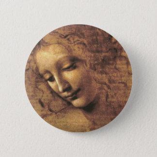 La Scapigliata par Leonardo da Vinci Badges