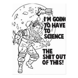 La Science ceci Carte Postale