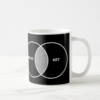 La Science/diagramme Venn d'art Mug