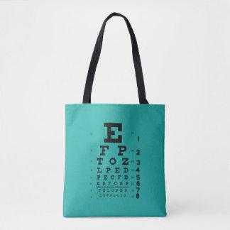 La Science est fraîche : Rétro ophthalmologie de Tote Bag