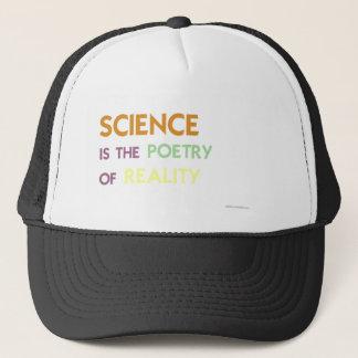La Science est la poésie de la réalité Casquette