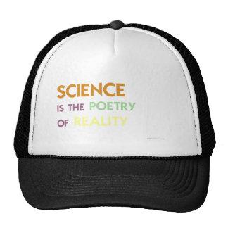 La Science est la poésie de la réalité Casquette De Camionneur