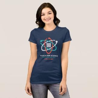 La Science mars T de la marine des femmes T-shirt