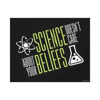 La Science ne s'inquiète pas Toile
