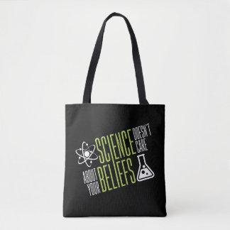La Science ne s'inquiète pas Tote Bag