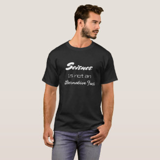 La Science n'est pas une chemise alternative de T-shirt
