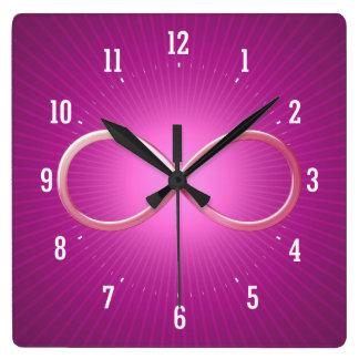 La Science ordonne des cadeaux de geek de | Horloge Carrée