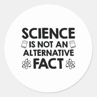 La Science Sticker Rond