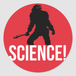 LA SCIENCE ! STICKER ROND
