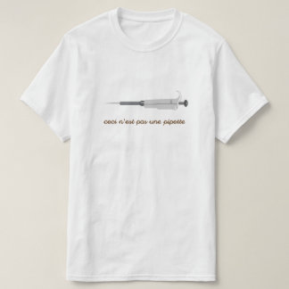 La Science surréaliste - pipette - le T-shirt des